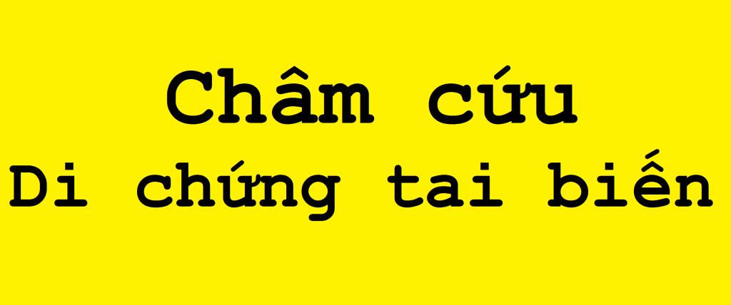 Cham cuu chua di chung tai bien